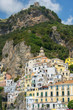 picturesque landscape Amalfi, Gulf of Salerno, Italy