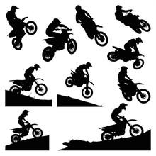 Hardcore Motocross Shapes Pack