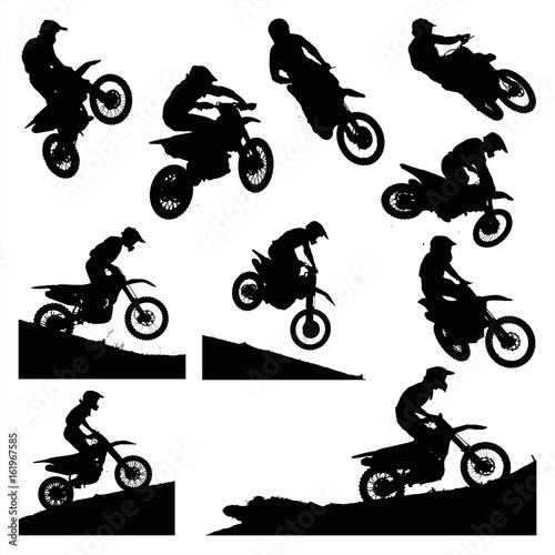 Hardcore Motocross Shapes