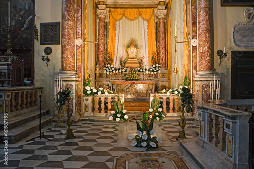 Fotografering  Churches tame during Holy Week