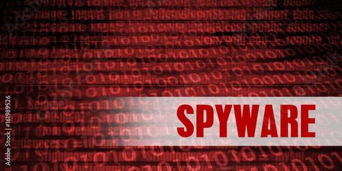Fotografía  Spyware Security Warning
