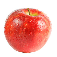One Fresh Red Apple