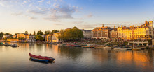 Richmond Riverside On A Summers Evening, London, UK