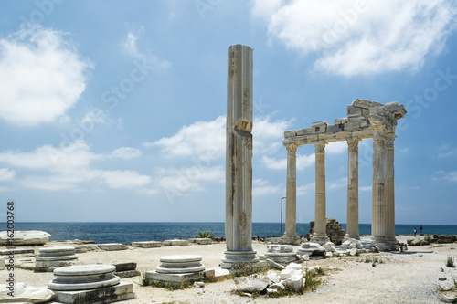 Poster Turquie tample of Apollon in Side