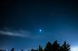 Venere, Marte e una stella cadente