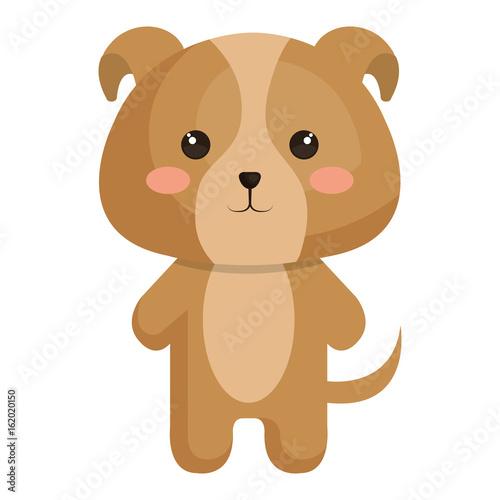 Stuffed animal dog icon vector illustration design graphic #162020150