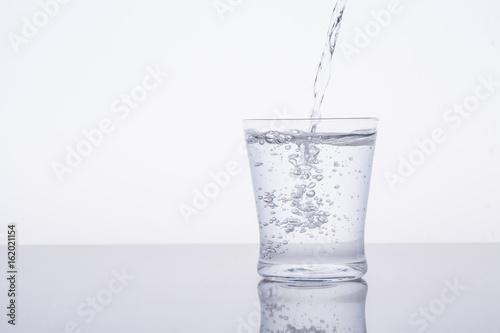 Keuken foto achterwand Water 水を注ぐ