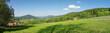 Typische Landschaft im Bayerischen Wald, Bayern, Deutschland