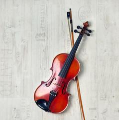 Obraz na płótnie Canvas nostalgische Geige