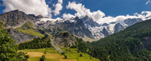 Panoramic Summer View Of The M...