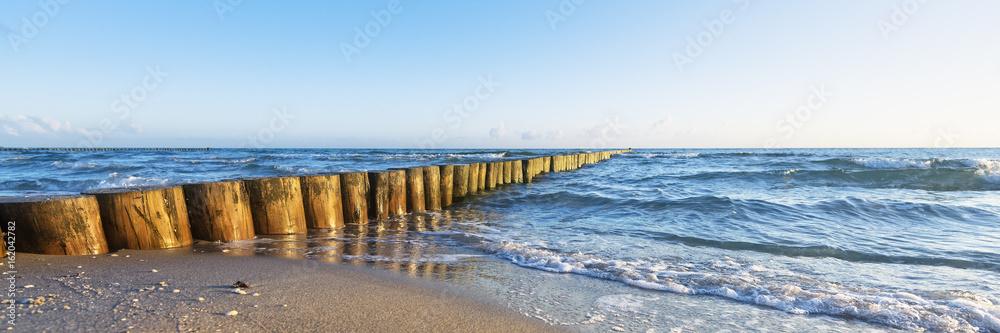 Fototapeta Urlaub am Meer - deutsche Ostseeküste - Banner