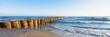 canvas print picture - Urlaub am Meer - deutsche Ostseeküste - Banner