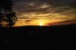 goldener Sonnenuntergang