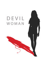 A Woman With A Devil's Tail. V...