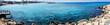 panorama beach coast landscape mediterranean sea Cyprus island