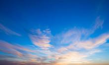 Vivid Sky Illuminated By The S...