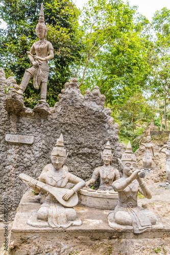Geheimer Garten Auf Koh Samui Buy This Stock Photo And Explore
