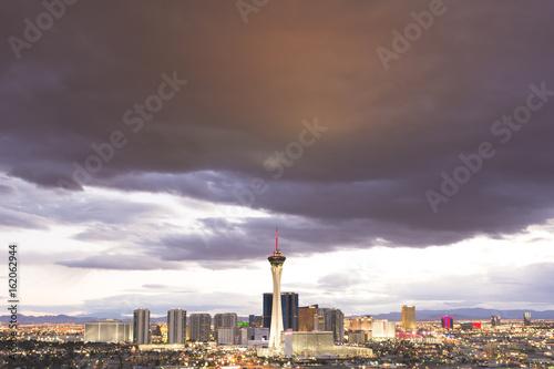 Vászonkép  Las Vegas Skyline