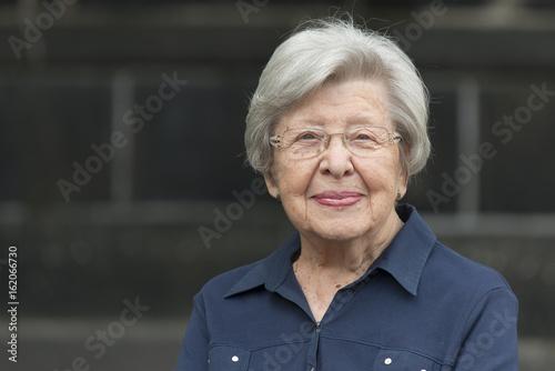 Photo Senior Woman Alone 2