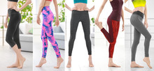 Collage Of Young Woman In Different Sport Pants