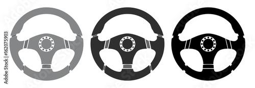 Photo Car steering wheel