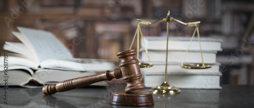 Fotografie, Obraz  Lawyer's desk