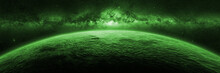Exotic Alien Planet Lit By A G...
