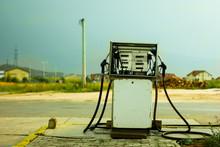 Abandoned Gas Station Pump