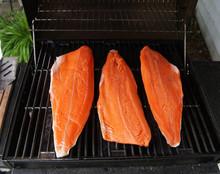Sockeye Salmon On The Grill