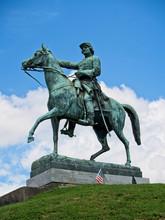 Monument For A Civil War Gener...