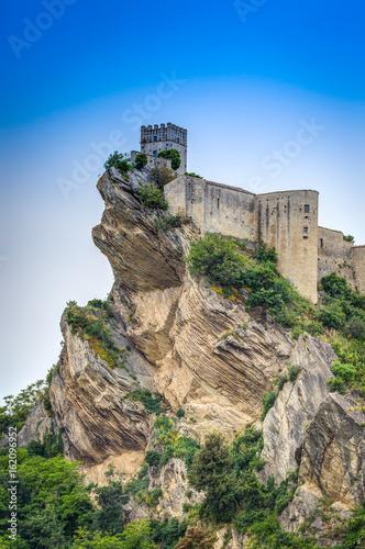 Roccascalegna Castle, Roccascalegna, Abruzzo, Italy Wallpaper Mural