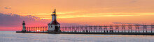 St. Joseph Lighthouses Sunset ...