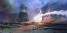 Bright Painted Fantastic Lands...