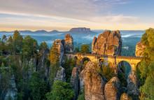 The Bastei Bridge, Saxon Switz...
