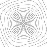 Siatka z zniekształceniem. Obrotowa spiralna siatka linii. - 162107521
