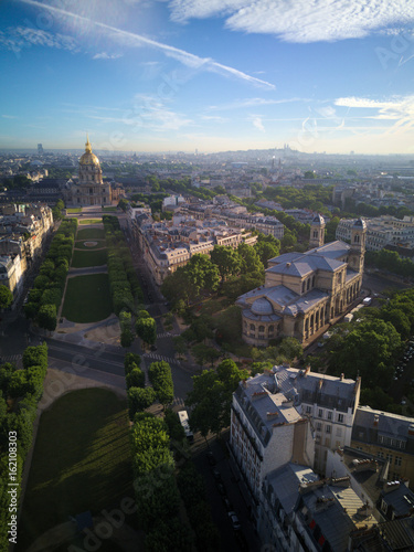 Poster  Paris vue aérienne 4