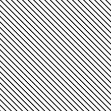 Striped Black Seamless Pattern