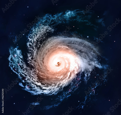 Spiral Galaxy - Elements of This Image Furnished by NASA Fototapeta