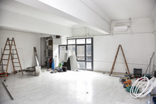 Construction Works For The Renovation Of An Office Space And Installing Air Conditioning.
