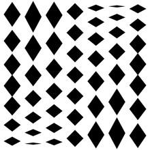 Distorted Mesh, Grid Geometric...