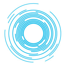 Concentric Rings Sound Wave Background