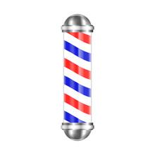 Barbershop Pole Isolated