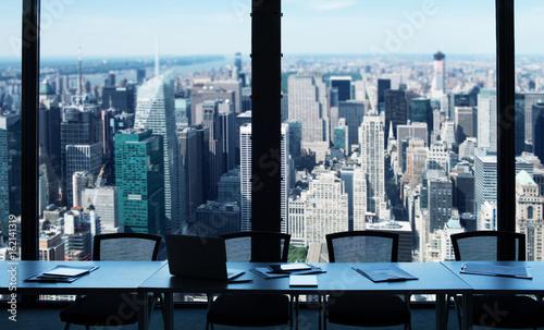 Obrazy na płótnie Canvas Modern office view