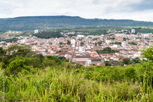 Fotografía  Aerial view of San Gil town, Colombia