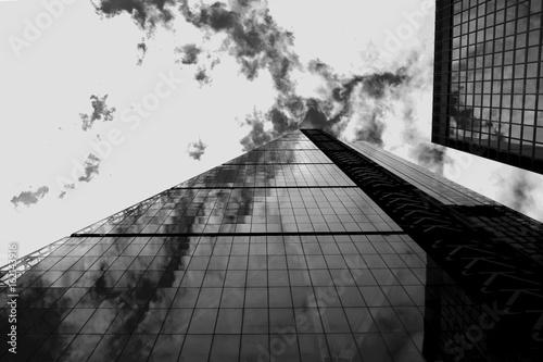 Valokuva London skyscraper  black and white