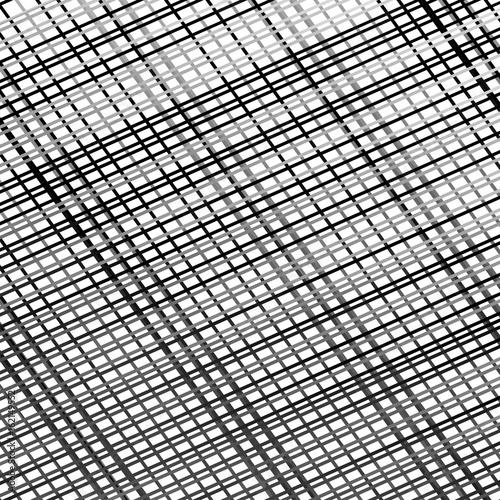 Staande foto Industrial geb. Grid, mesh of lines. Abstract geometric pattern