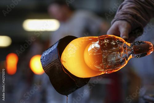 Photo  bohemia crystal industry