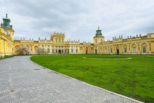 Royal Wilanow Palace In Warsaw...