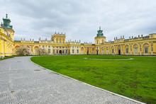 Royal Wilanow Palace In Warsaw - Residence Of King Jan III Sobieski.