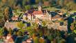 canvas print picture - Festung Rosenberg Kronach